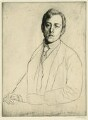Laurence Binyon, by William Strang, printed by  David Strang - NPG D5436
