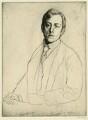 Laurence Binyon, by William Strang, printed by  David Strang - NPG D5436