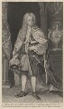 Edward Harley, 2nd Earl of Oxford, by George Vertue, after  Michael Dahl - NPG D5447