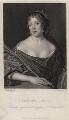 Elizabeth Pepys, by James Thomson (Thompson), after  John Hayls - NPG D5507