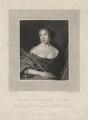 Elizabeth Pepys, by James Thomson (Thompson), after  John Hayls - NPG D5508