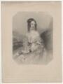 Lady Georgina Rebow (née Toler) when Lady Georgina Toler, by Francis Holl, after  John Hayter - NPG D5597