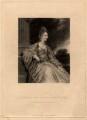 Lady Christian Henrietta Caroline ('Harriet') Acland (née Fox, Fox-Strangways), by Samuel William Reynolds, after  Sir Joshua Reynolds - NPG D5612