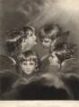 Frances Isabella Ker Gordon when a child, by William Ward, after  Sir Joshua Reynolds - NPG D5644