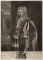 Thomas Pelham-Holles, 1st Duke of Newcastle-under-Lyne, by John Faber Jr, published by  John Smith, after  Sir Godfrey Kneller, Bt - NPG D5717