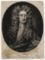 Sir Isaac Newton, by John Simon, after  Sir Godfrey Kneller, Bt - NPG D5719