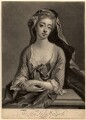 Catherine Walpole (née Shorter), Lady Walpole, by John Simon, published by  Philip Overton, after  Michael Dahl - NPG D5726