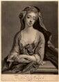 Catherine Walpole (née Shorter), Lady Walpole, by John Simon, published by  Philip Overton, after  Michael Dahl - NPG D5726