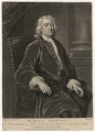 Sir Isaac Newton, by John Faber Jr, after  John Vanderbank - NPG D5748