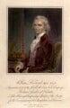 William Roxburgh, by Charles Warren, after a miniature by  Unknown artist - NPG D5847