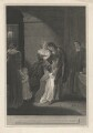 'Lord W. Russel's last interview with his family', by George Noble, published by  Robert Bowyer, after  Robert Smirke - NPG D5858