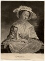 Miss Baldwin, by Benjamin Green ('Pott'), after  Tilly Kettle - NPG D586