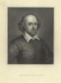 William Shakespeare, after Unknown artist - NPG D5944