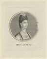 Elizabeth Ann Sheridan (née Linley) when Miss Linley, after Unknown artist - NPG D5974