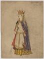 Matilda of Flanders, by H.B. - NPG D6692