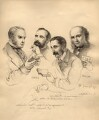 Sir George Scharf and friends, by Sir George Scharf - NPG D6716