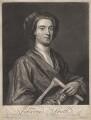 John Smith holding print by John Smith of Sir Godfrey Kneller, Bt, by John Smith, after  Sir Godfrey Kneller, Bt - NPG D6782