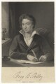Percy Bysshe Shelley, by William Holl Sr, or by  William Holl Jr, after  Amelia Curran - NPG D6851