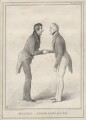 'Mutual Congratulation', by John ('HB') Doyle, printed by  Alfred Ducôte, published by  Thomas McLean - NPG D6905