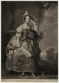 Mary (née Panton), Duchess of Ancaster, by James Macardell, after  Thomas Hudson - NPG D7003