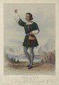 Aloys Ander as Arnoldo in Rossini's 'William Tell', by Edward Morton, after  F. Smallfield - NPG D7011