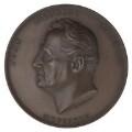 Johann Baptist Cramer, by Benjamin Wyon - NPG D7027