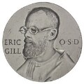 Eric Gill, by George Taylor Friend, probably after  Eric Gill - NPG D7037