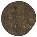 Edward Vernon; Sir Chaloner Ogle, by Unknown artist - NPG D7044
