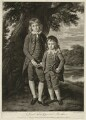 Henry Bathurst, 3rd Earl Bathurst; Apsley Bathurst (when Viscount Apsley and a boy), by Thomas Watson, after  Nathaniel Dance (later Sir Nathaniel Holland, Bt) - NPG D7079