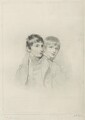 Master Arbuthnot; Master Arbuthnot (when children), by Frederick Christian Lewis Sr, after  Sir Thomas Lawrence - NPG D7080