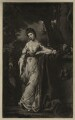 Frances Abington (née Barton) as Thalia, by James Watson, after  Sir Joshua Reynolds - NPG D7153