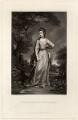 Emily Fitzgerald (née Lennox), Duchess of Leinster, by James Scott, after  Sir Joshua Reynolds - NPG D717