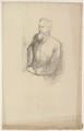 (Charles) Grant Blairfindie Allen, by Sir William Rothenstein - NPG D7302