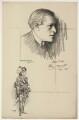 Sir George Alexander (George Samson), after Charles Buchel (Karl August Büchel), and after  John Hassall - NPG D7316