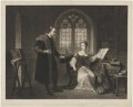 'Interview between Lady Jane Grey and Dr Roger Ascham in the Year 1550', by William Say, after  Henri Jean-Baptiste Victoire Fradelle - NPG D7387