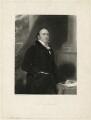 Alexander Baring, 1st Baron Ashburton, by Charles Edward Wagstaff, after  Sir Thomas Lawrence - NPG D7396