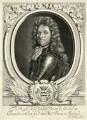 Godard van Reede-Ginckel, 1st Earl of Athlone when Baron de Ginkel, by Adriaen Haelwegh, after  Robert White - NPG D7424