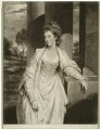 Louisa (née Thynne), Countess of Aylesford, by Valentine Green, after  Sir Joshua Reynolds - NPG D7453