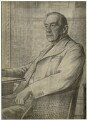 Stanley Baldwin, 1st Earl Baldwin, after Francis Dodd - NPG D7480