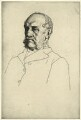 Thomas Graham Balfour, by William Strang, printed by  David Strang - NPG D7485