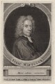 Isaac Watts, by George Vertue, after  Unknown artist - NPG D7582