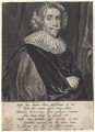 Sir John Webster, Bt, by Theodor Matham, after  Cornelius Johnson - NPG D7588