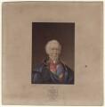 Arthur Wellesley, 1st Duke of Wellington, by George Baxter - NPG D7600