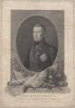 Arthur Wellesley, 1st Duke of Wellington, by Francesco Bartolozzi, after  Domenico Pellegrini - NPG D7605