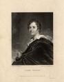 George Gordon Byron, 6th Baron Byron, by Francis Engleheart, after  William Edward West - NPG D7607