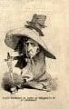 Benjamin Disraeli, Earl of Beaconsfield ('Fancy Portrait of Dizzy as the Bravo of St. Stephen's'), after Unknown artist - NPG D7662