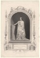 Mary Amelia Warner as Hermione in 'The Winter's Tale', published by John Tallis & Company, after  William Paine - NPG D7724