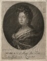 Queen Mary II, sold by Thomas Bakewell, after  Sir Godfrey Kneller, Bt - NPG D7763