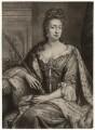 Queen Mary II, by William Faithorne Jr, after  Jan van der Vaart - NPG D7766