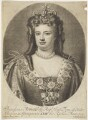Queen Anne, by John Smith, after  Sir Godfrey Kneller, Bt - NPG D7769